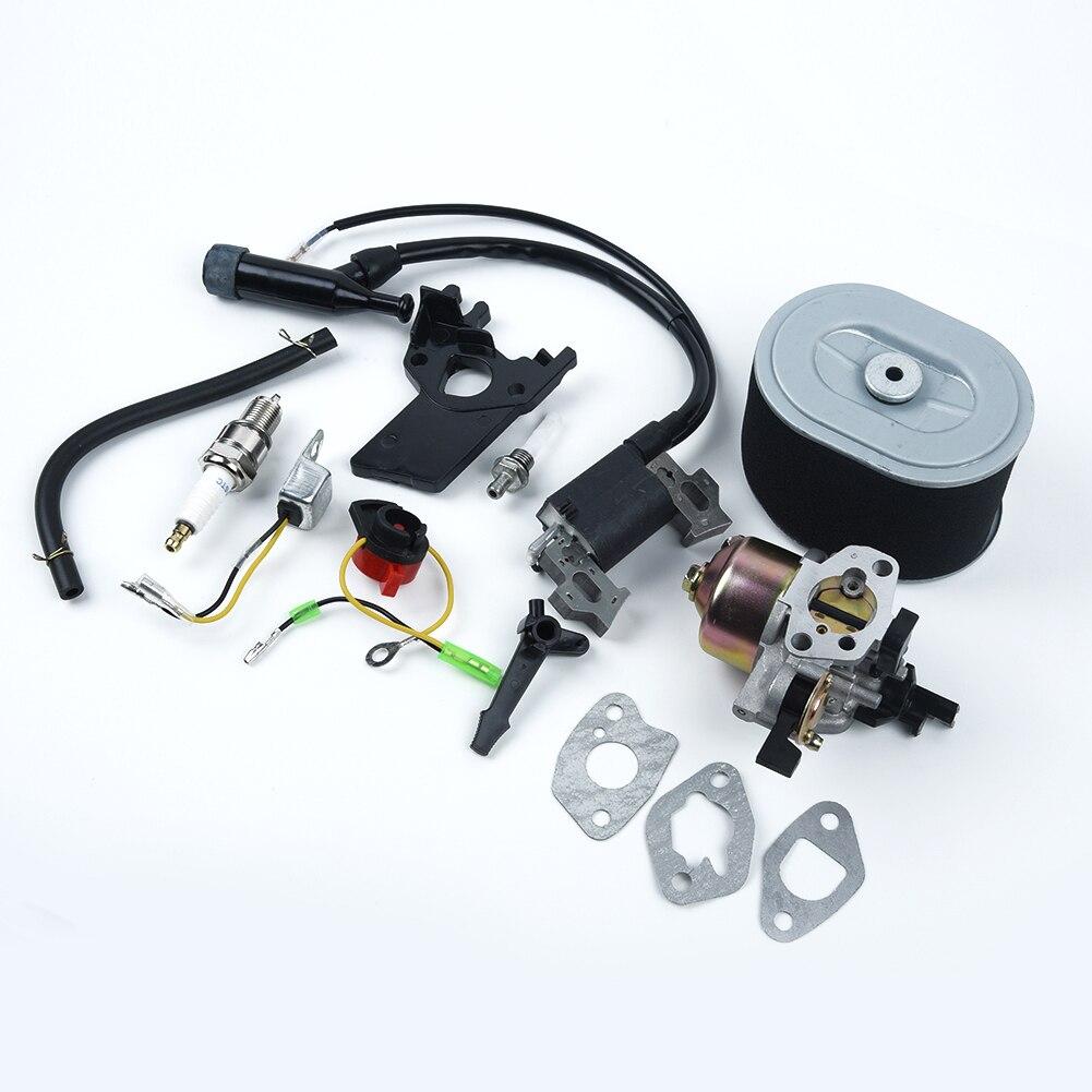 GX160 GX200 المكربن عدة ملف تشغيل المحرك التبديل الكهربائي طوقا
