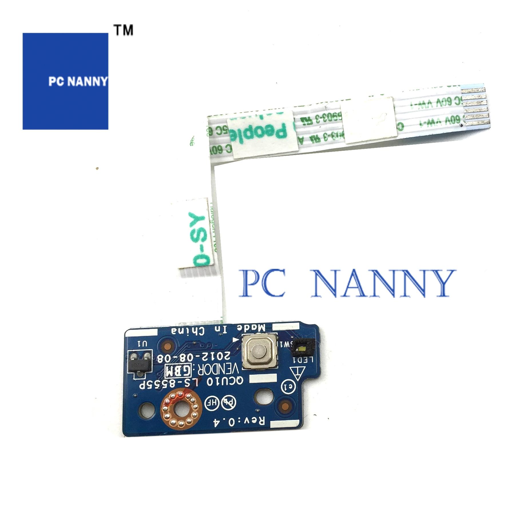 PCNANNY ل HP شبح XT TS 15-4000 الطاقة زر مجلس LS-8555P المتحدثون