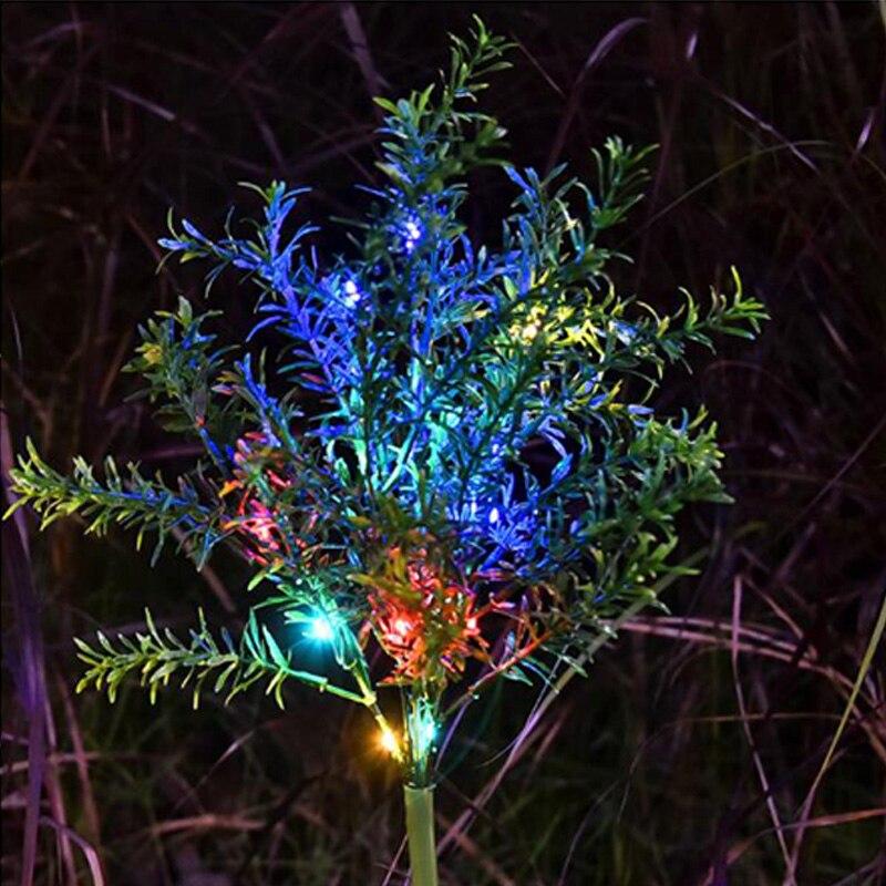 Solar Licht Outdoor Solar Garten Lichter Weihnachten Baum Lichter Für Yard Garden Path Way Landschaft Decor Solar Powered Lampe