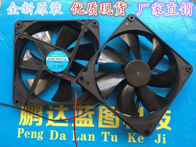 Ventilador silencioso 14025 12 v y 24 v a 5 v USB 14 cm 14 cm ventiladores de la caja de refrigeración de la computadora