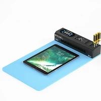 mobile phone ipad lcd screen separator machine dust show lamp eparatingrepair tool usb port separator heating pad rubber mat