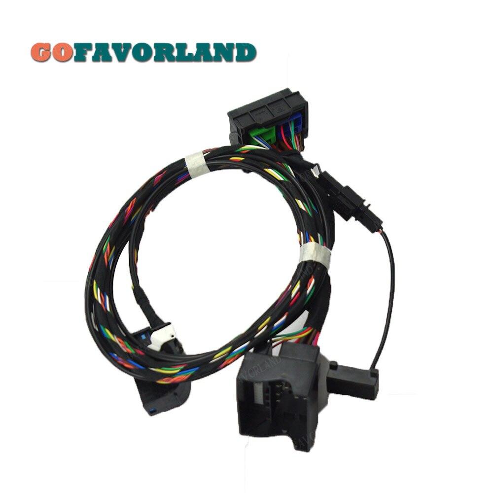 Автомобильный Радио Bluetooth модуль прямого подключения беспроводной микрофонный Жгут кабель 1K8035730D для VW RCD510 9W2 9W7 9ZZ
