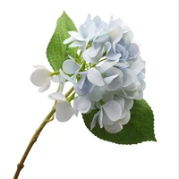 34cm artificial hydrangea wedding diy family garden hotel photography party valentines day christmas fall decorations cheap