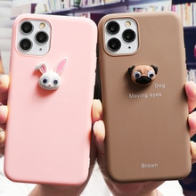Lindo 3D ojo a Animal funda de silicona para Samsung Galaxy A50 A51 A70 A71 A10 A10e A20e A30 A40 S8 S10 S10e S9 S20 Ultra Plus caso