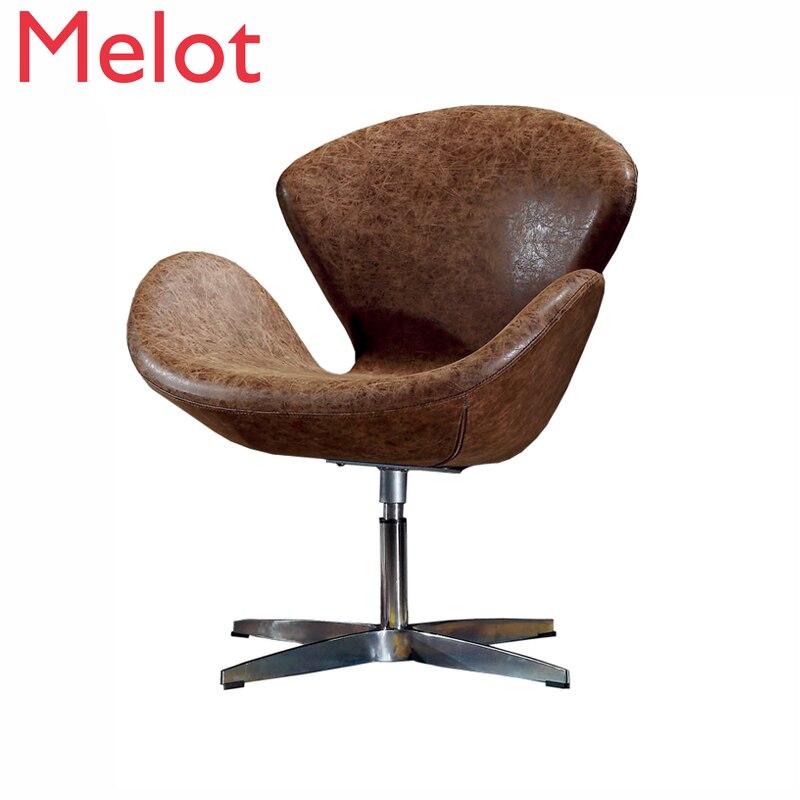 Скандинавские обеденные стулья, оригинальный дизайнерский диван-стул, современные обеденные стулья, стул для макияжа из синтетической кож... обеденные группы из стекла для кухни