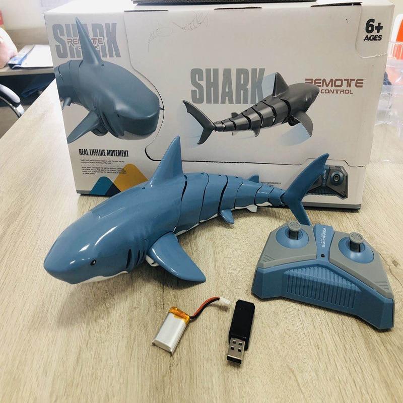 Взрывчатая игрушка с дистанционным управлением, 2,4 ГГц, имитация электрической игрушки, рыба, перезаряжаемая, с дистанционным управлением, ...