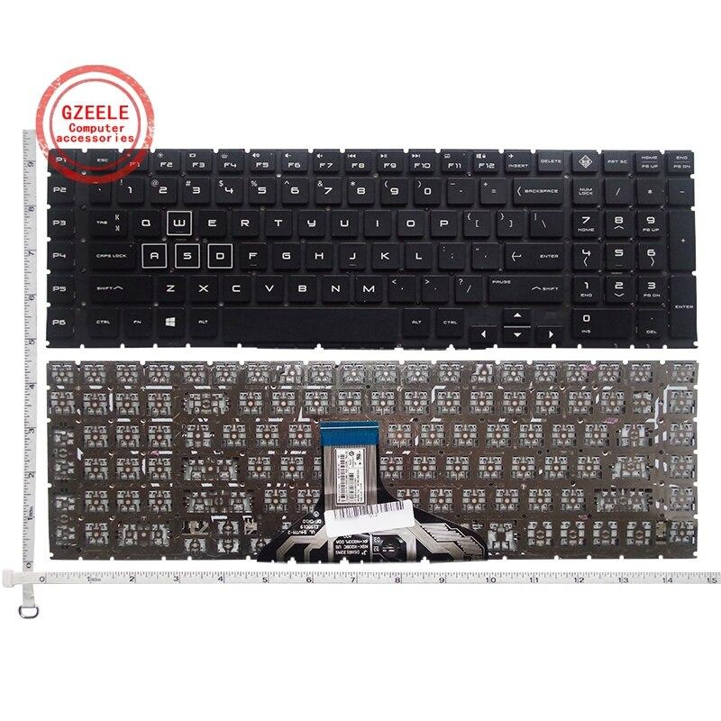 لوحة مفاتيح كمبيوتر محمول أمريكية جديدة لـ HP 17-CB TPN-C144 اللغة الإنجليزية