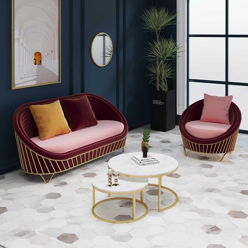 Настраиваемая мебель для дома, мягкое кресло, большие диваны Muebles Lamzac для кафе и ресторанов