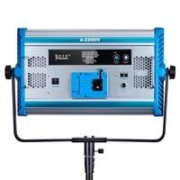 100w bi color 3200k 5500k led video studio light yidoblo a 2200iv photography lighting led soft fill light with tripod dmx