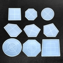 Большие нерегулярные формы для тарелок Петри, эпоксидные изделия из смолы, сделать свой собственный лоток из смолы, персонализированная DIY жидкая художественная форма из смолы