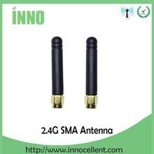 2pcs 2.4GHz Antenna WIFI SMA Male connector 3dbi Aerial 2.4G antena wi fi antenne White fo Wireless wi-fi Router antenas 2.4 ghz