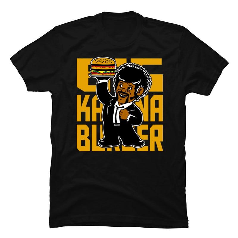 Camisetas de diseño Big Kahuna hamburguesa para hombre, camisetas de algodón con cuello redondo Bootleg Demi Lovato, camisetas de ocio 100% para padre