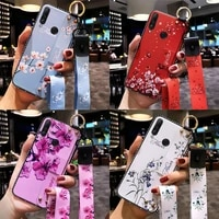 wrist strap case for huawei p30lite p20 p40 pro mate 10 20 30 honor 8x 9x 30i 10 20 30 lite y9prime 2019 y9s cover with lanyard