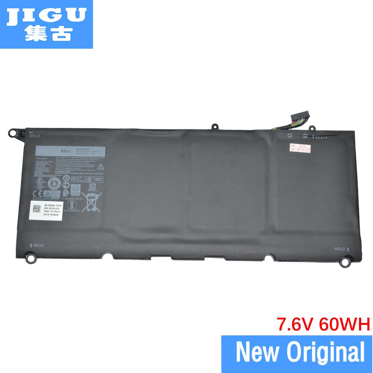 JIGU الأصلي اللوحي بطارية PW23Y TP1GT RNP72 لديل XPS 13 9360 D1505 D1505G D1605T 7.6V 60WH