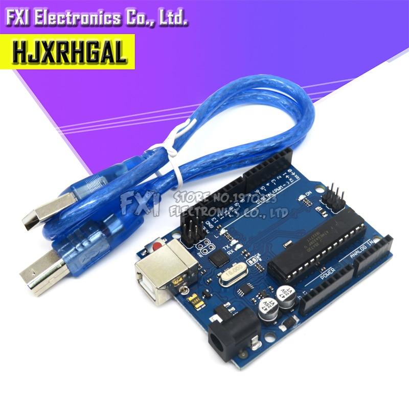 1 Комплект UNO R3 ATMEGA16U2 + MEGA328P чип для Arduino