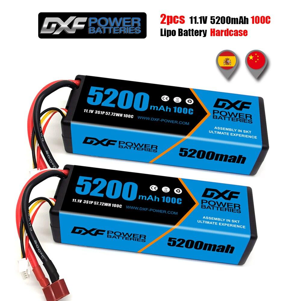 2PCS DXF Battery 2S 3S 4S Lipo 7.4V 11.1V 14.8V 8400Mah 7000Mah 6500Mah 6700mah 9300Mah 5200Mah 60C 100C 120C 130C For Rc Car enlarge
