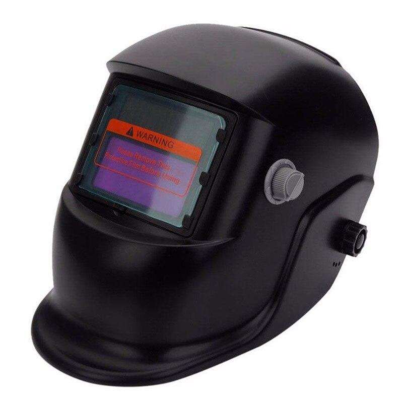 Солнечная с литиевой батареей Автоматическая Затемняющая электрическая Сварочная маска/шлем/сварочный колпачок регулируемая сварочная линза маска для глаз сварочный аппарат