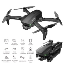 GD93 Mini Drone Profesional 4K 1080P HD Double Camera GPS WiFi Fpv Drones Altitude Hold Black Foldab