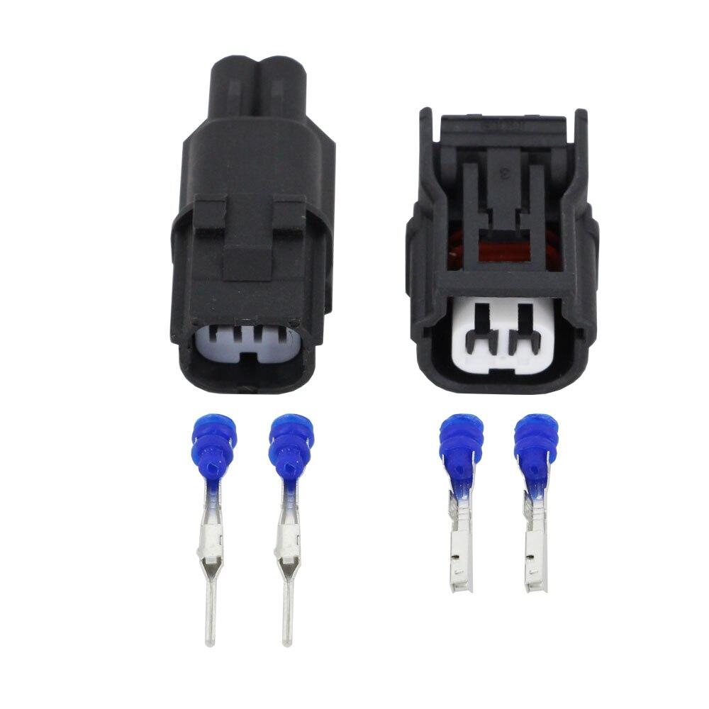 2 pines HV040 conector automático hembra y macho enchufe de sensor ABS interruptor de presión conector de bobina de encendido para Honda DJ7021C-1.2-11/21