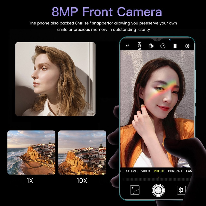 2021 Smart Phone Global Version Xiomi Note 9 Pro Smartphones 6GB 128GB 4800mAh Battery 4G 5G Network Mobile Phones Android 10 enlarge