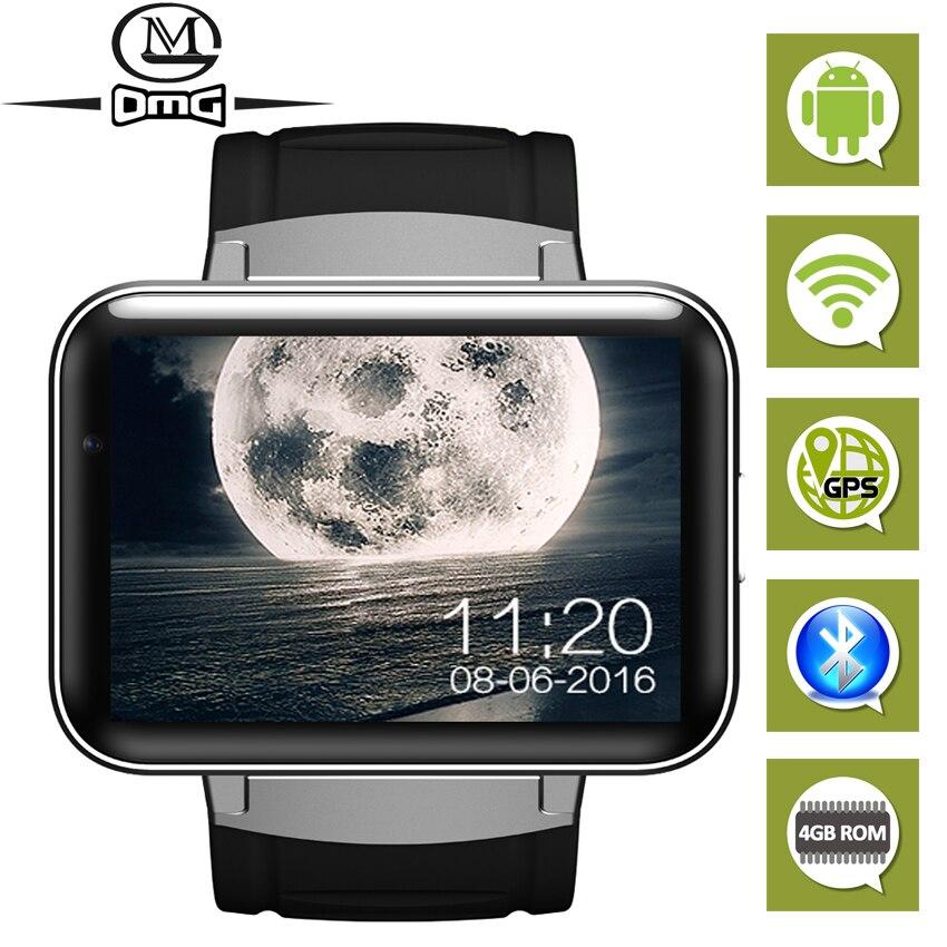 Android Bluetooth wifi GPS reloj inteligente Smartband mini teléfono móvil inteligente rastreador de Fitness MTK6752 4GB ROM 3G smartphone