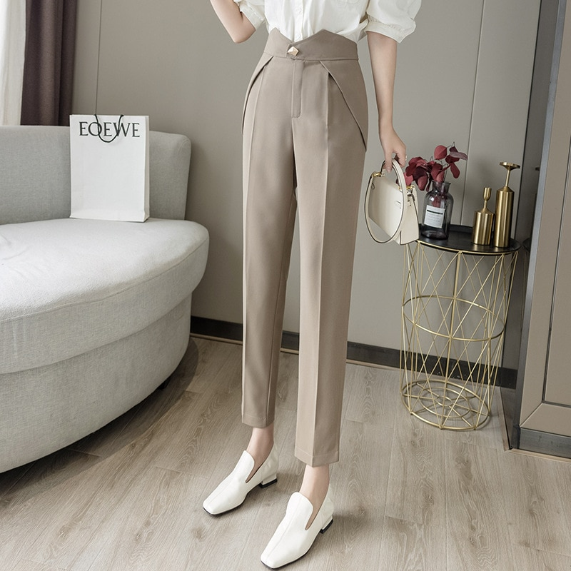 Yg Brand Women's Wear, 2021 Spring And Autumn New Fashion Pencil Pants, Popular Casual Pants, Women'