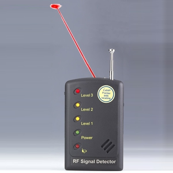 RF Signal Detector+Hard wire camera detection+Laser-assisted direction indication Superior sensitivity Anti-wiretap Anti- candid enlarge