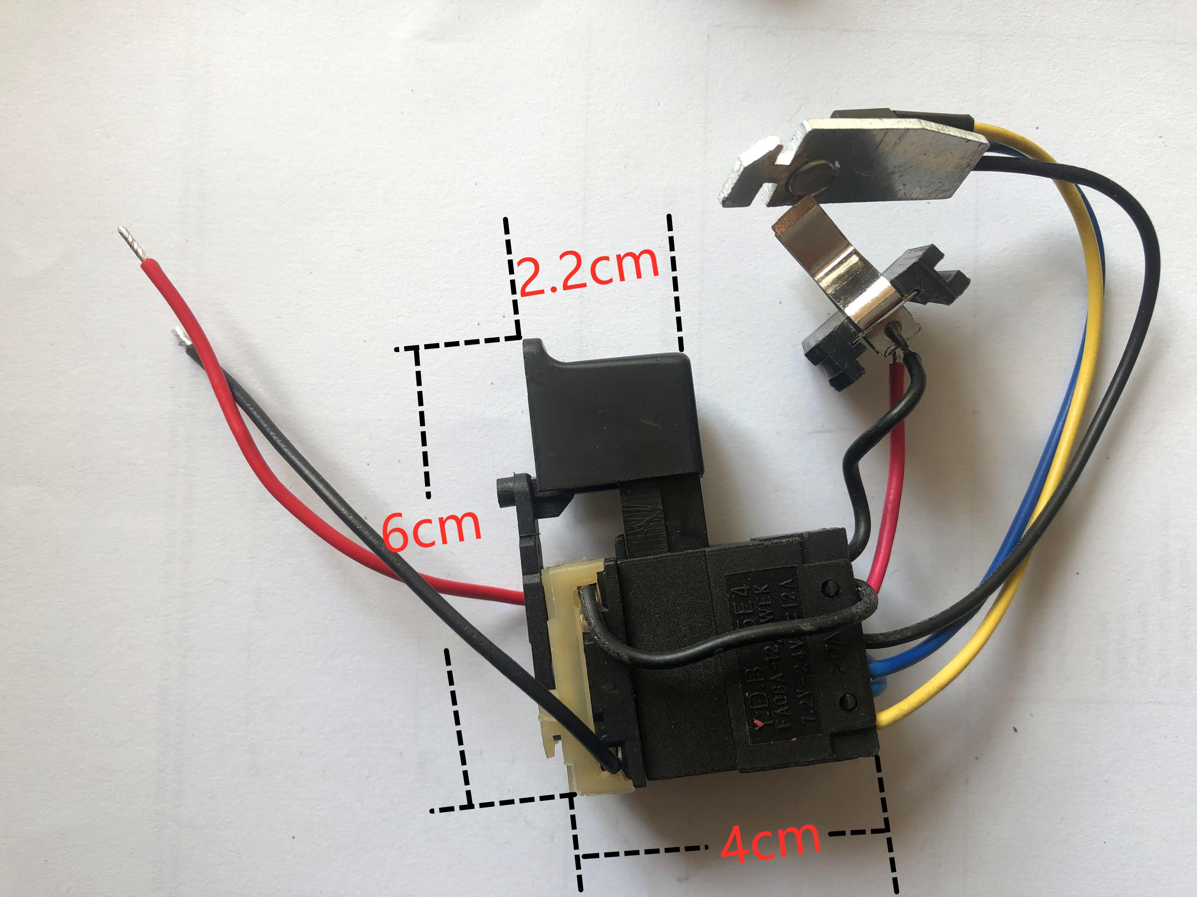FA08A FA08A-12/1 электрический сверлильный переключатель