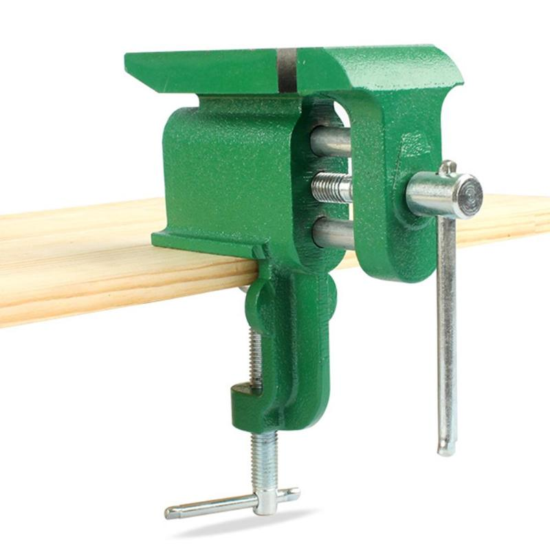 Multifuncional tornillo de banco de mesa plana tocando pinzas multipropósito práctico pasatiempo de joyeros abrazadera-Mini Reparación de herramienta de mano