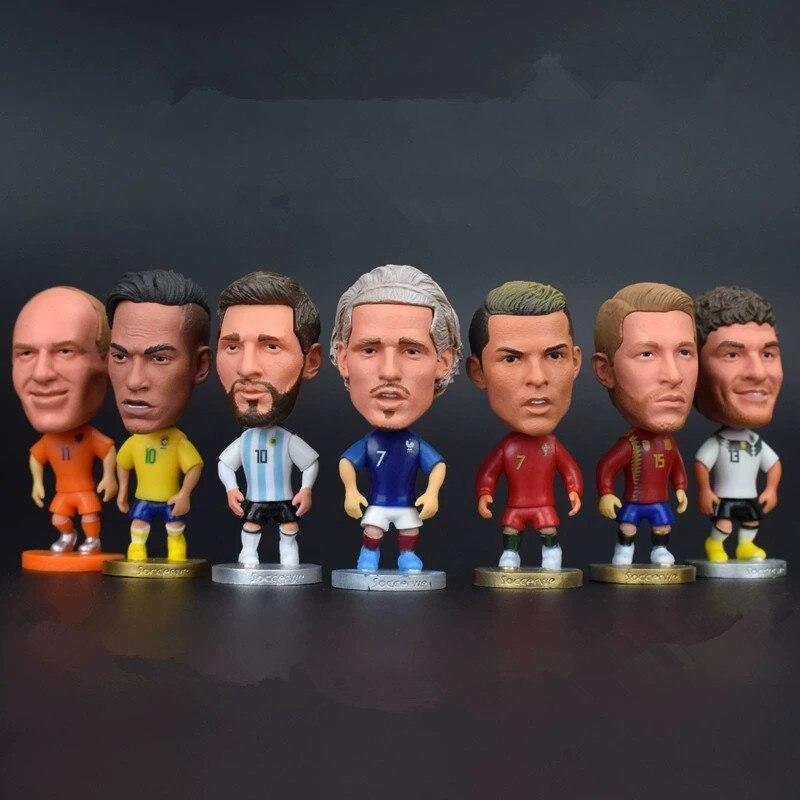 Игрок в футбол, 2,5 дюйма, мини-модель национальной сборной, игрок в футбол, 6,5 см, экшн-фигурки, куклы