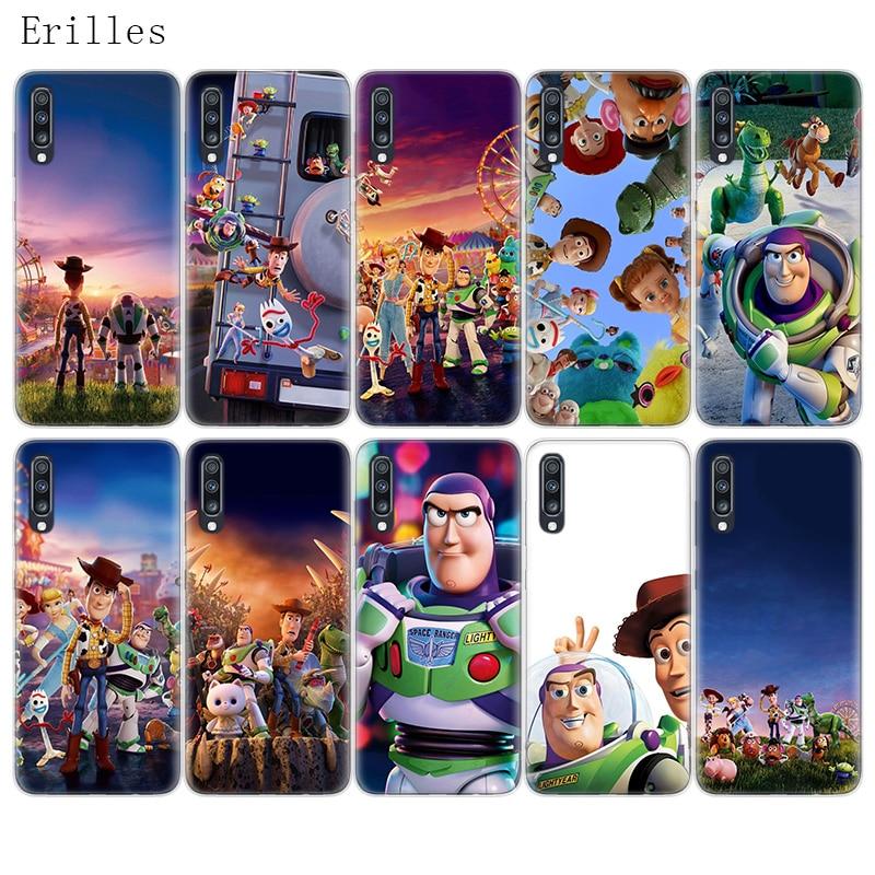 Juguete historia Woody nueva diversión Fundas para Samsung Galaxy A51 A71 A50 A70 A20 A30 A40 A10 A20E J4 J6 A6 A8 A7 A9 2018 cubierta