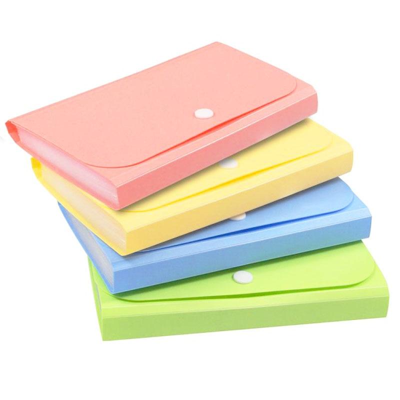 Папки A6 карамельных цветов для документов, органайзер, органайзер, расширяющаяся папка для документов, держатель для документов, школьные и...