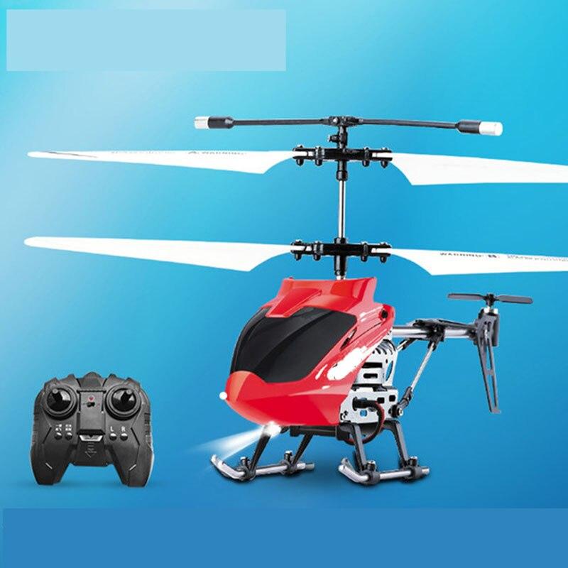 Mango de avión de Control remoto pequeño Drone resistente a la carga de otoño niño helicóptero de juguete de colisión