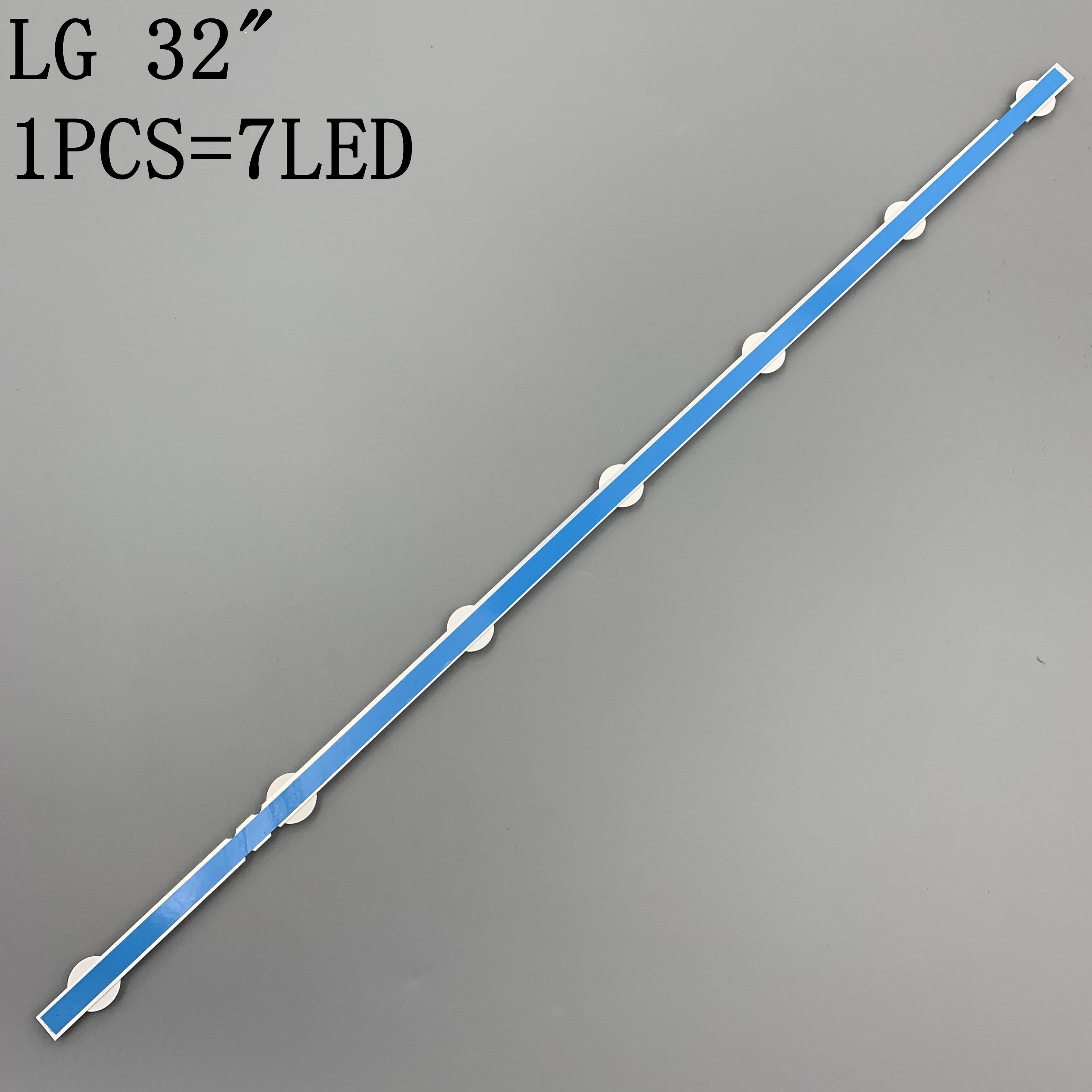 30pcs 7LED Backlight Lamp Strip for LG 32 TV 32ln541v 32LN540V A1 B1-Type 6916L-1437A 6916L-1438A 6916L-1204A 6916L-1426A 63cm enlarge