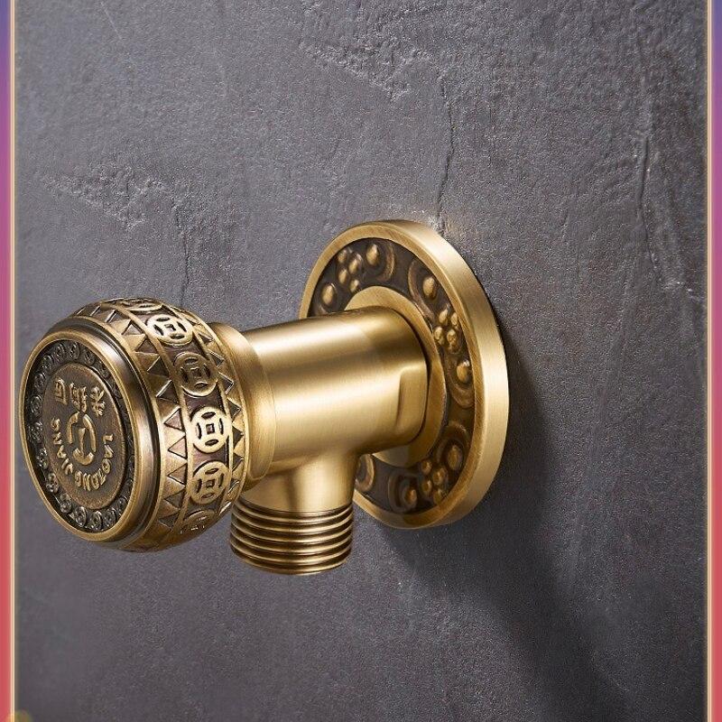 المياه وقف صمام تحكم دش صهريج المرحاض صمام الأمان ل سخان مياه إكسسوارات الحمام Accessori Bagno صمام المياه