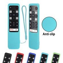 Voice TV Cover telecomando in Silicone RC802V FMR1 FLR1 FNR1 per TV LCD TCL 65P8S 55P8S 55EP680 50P8S 49S6800FS 49S6510FS