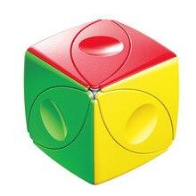 Shengshou Auge Magie Cube Auge Stickerless Geschwindigkeit Cube Twist Ultra-Glatte Spielzeug Professionelle Geschenk Kinder