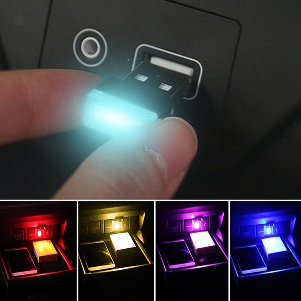 LED Atmosphere USB Light Interior Lighting Lamp for Honda Mugen Power Fit Jazz City Civic Inspire Accord HRV CRV Odyssey Jade