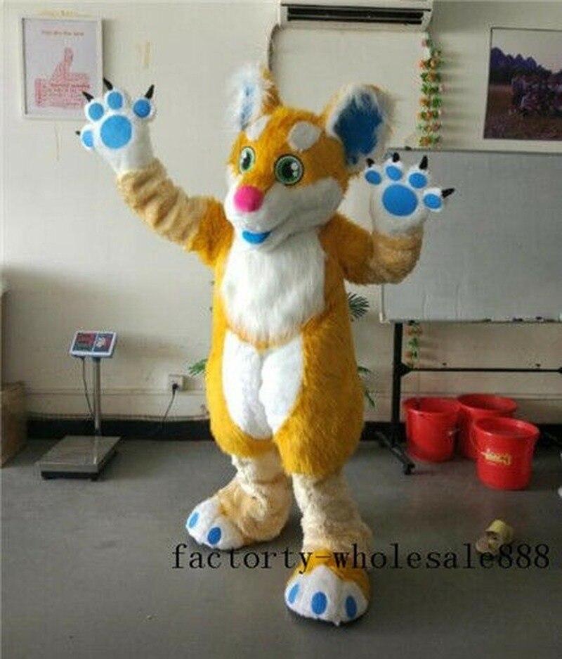 زي تنكري للحفلات التنكرية, زي ذئب كلب طويل من الفرو ملابس تنكرية للحفلات