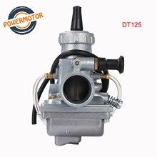 28mm moto carburateur Mikuni Carburador carburateur pour Yaaha DT125 DT 125 Suzki TZR125 RM65 RM80 RM85 DT175 RX125 vélo de saleté