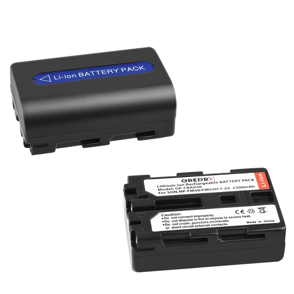 2 шт. NP-FM50 NP-FM55H Батарея для Sony NP FM50 FM55H NP-FM30, NP-FM50, NP-FM51, NP-FM70, NP-FM71, NP-QM70 NP QM71 QM71D FM90