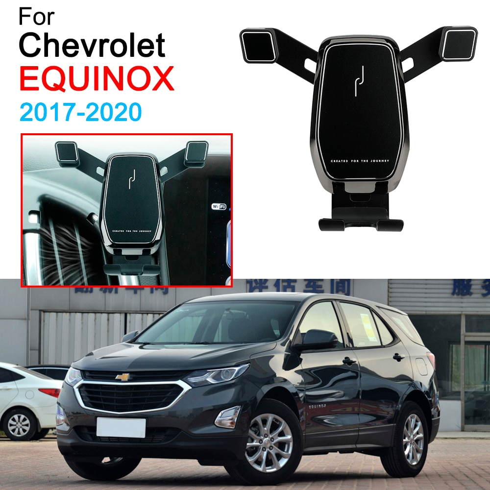 Car Mobile Phone Bracket Air Vent Mount Call Phone Holder Support for Chevrolet Equinox Accessories