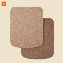 Xiaomi chêne naturel liège poignet tapis de souris toucher respectueux de la peau, soulager la pression du poignet, peut se plier, résistance aux taches dhuile