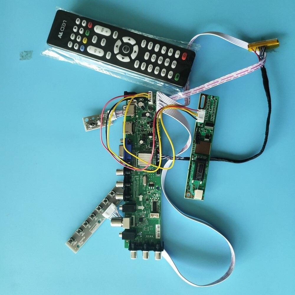 """Kit para LTN154P3-L03/LTN154P3-L04 30pin 1680X1050 TV VGA USB AV Panel Controlador DVB-C DVB-T 1 CCFL LCD Digital HDMI 15,4"""""""