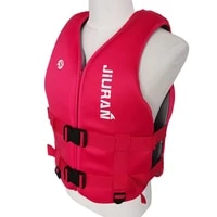 portable life jacket buoyancy vest profession aid survival floating breathable life vest for kids adult swimming fishing rafting
