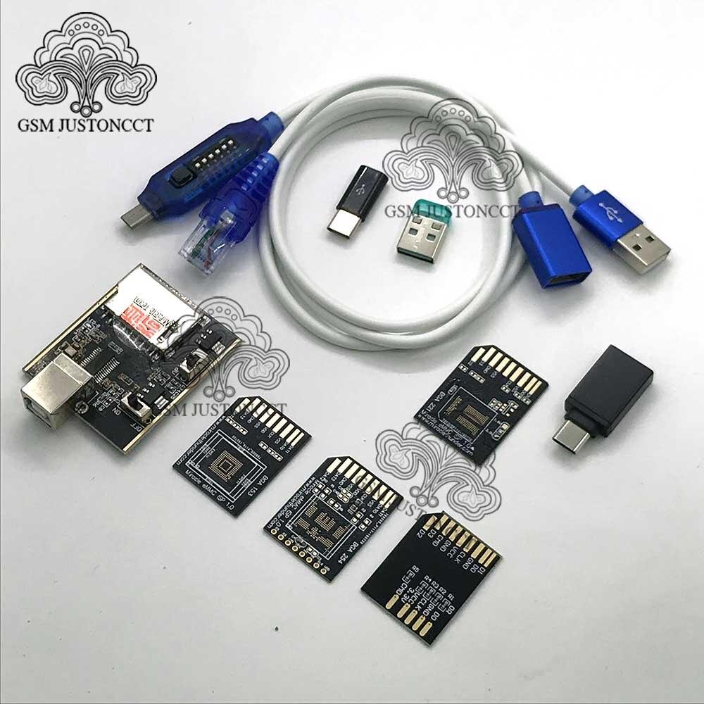 Milagro trueno dongle + arranque cable + emmc adaptador/milagro thunder pro dongle no necesita miralce caja y clave