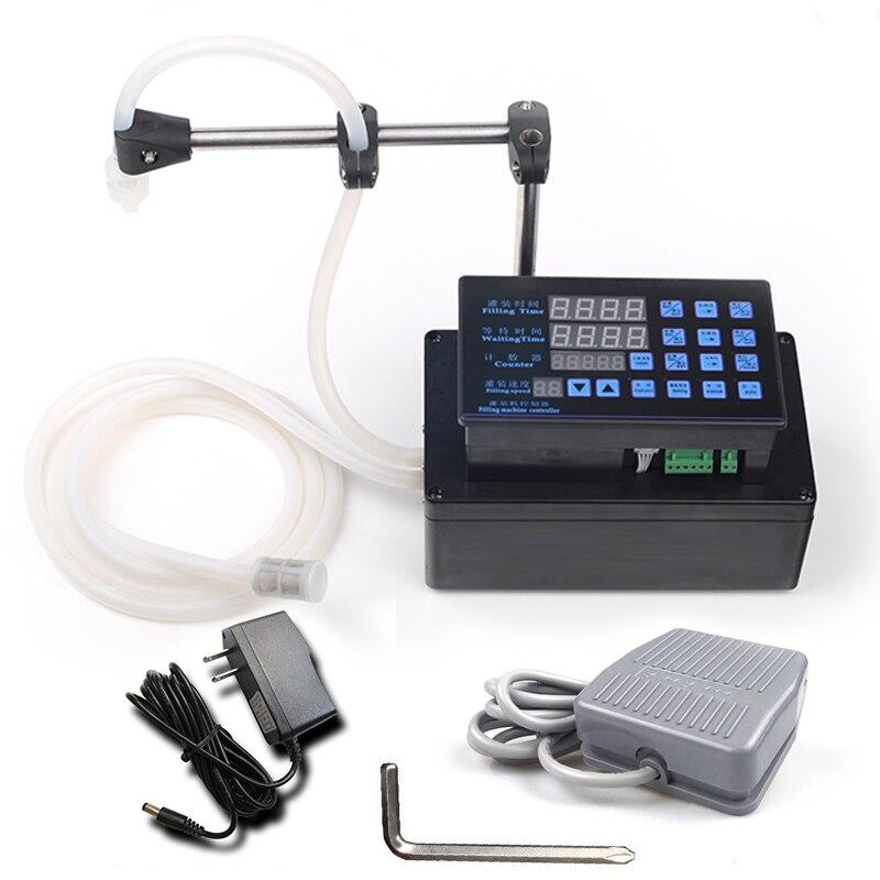 Электрическая разливочная машина для жидкостей, мини-наполнитель для воды в бутылках, цифровой насос для парфюмерного напитка, вода, молоко, оливковое масло, 110 В, 220 В