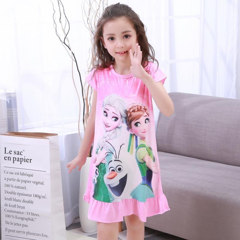 Disney frozen elsa anna/платье, пижамы, домашняя одежда, оригинальные куклы, игрушки, детская пижама для девочек, одежда для сна, пижамы для девочек elsa