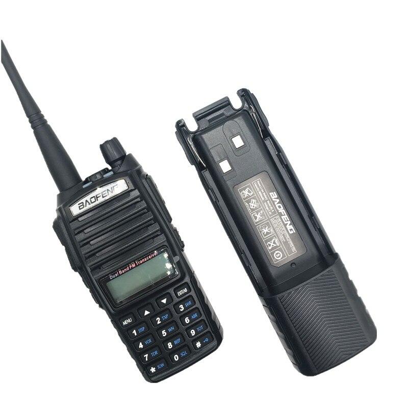BAOFENG UV-82 8W Walkie Talkie 10KM VHF UHF Dual PTT Scanner Radio Amateur 3800mAh Large Battery Marine CB Ham Radio Transmitter enlarge