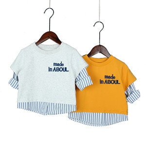 2 3 4 5 6 Years Baby Boys Hoodies Casual Letter Long Sleeve Sweatshirts for Boy Kids Clothing Stripe Splicing Child Clothing New